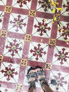 I have this thing with tiles