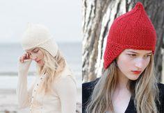 New Favorites addendum: A very elfin earflap hat