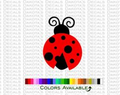 Ladybug Family Car Decals Vinyl Outdoor Decals Family Car Decals - Family car sticker decalsfamily car decal etsy
