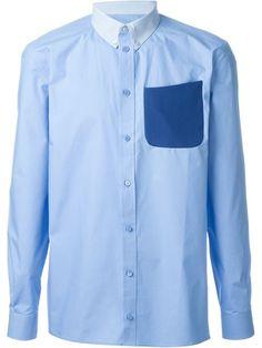 GIVENCHY Chest Pocket Shirt. #givenchy #cloth #shirt