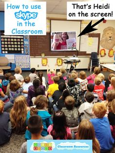 How to Use Skype in the Primary Classroom by HeidiSongs