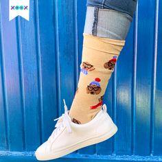 Cuando traes tus XOOX es inevitable no parar de presumirlos Inevitable, Socks, Outfit