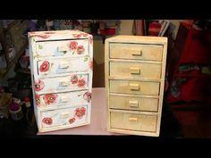 Bau / Banco forte de papelão - Cardboard trunk / stool - Arca / Stool de cartón - YouTube