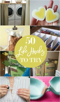 50 life hacks to try
