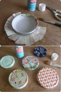 covered can lids :: design*sponge