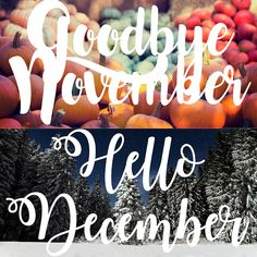 goodbye november hello november pictures - This calendar ideas tips was include at by goo Hello December Pictures, Hello December Quotes, November Images, Welcome December, Hello November, October, New Month Wishes, New Month Quotes, November Calendar