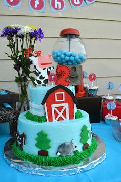 Olivia Farm Birthday Party