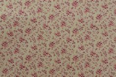 Vintage Cotton Floral Fabric Cotton Fabric by the Yard www.thefabricscore.etsy.com #floral #pink #fabric #sewing