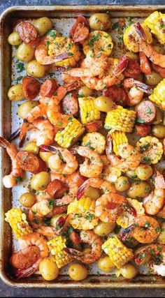 12 Sheet Pan Meals For Easy Weeknight Dinners 9 Sheet Pan sFor Easy Weeknight Dinners & Sheet Pan Shrimp Boil The post 12 Sheet Pan Meals For Easy Weeknight Dinners & Food and Drinks appeared first on Easy dinner recipes . Seafood Dishes, Seafood Recipes, Keto Recipes, Sausage And Shrimp Recipes, Cajun Shrimp Recipes, Shrimp Recipes For Dinner, Good Recipes For Dinner, Dinner Ideas Healthy, Lunch Recipes