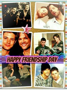 Happy friendship day to all Spn fans :)