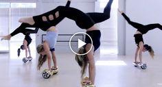 """Grupo Feminino Faz Incrível Dança Acrobática Ao Som De """"Sorry"""" Usando Hoverboards http://www.desconcertante.com/grupo-feminino-incrivel-danca-acrobatica-som-sorry-usando-hoverboards/"""