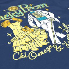 Chi Omega - Tacky Prom Design - ChiO - Sorority Tshirts - Sorority tanks - Check out b-unlimited.com!