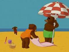 Les 32 meilleures images du tableau petit ours brun sur - Petit ours brun a la mer ...