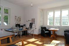 Teil des Hofensembles in Isernhagen: Arbeiten im Wohnhaus Desk, Furniture, Home Decor, Detached House, Real Estates, Garden Cottage, Homes, Desktop, Decoration Home