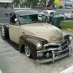 pick ups trucks Chevy C10, 54 Chevy Truck, Chevy Pickups, Chevrolet 3100, Ford Trucks, Lowrider Trucks, Chevrolet Trucks, Lifted Trucks, Vintage Pickup Trucks