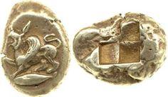 Greek coin. Electrum, minted in Cyzikus.