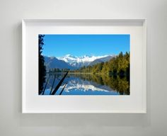 REFLECTION LAKE - Signed Limited Edition Large Print