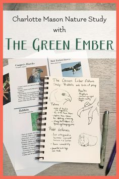 Join us for a delightful nature study inspired by The Green Ember. The printable packet and video are included! Science Lessons, Science Activities, Science Experiments, Homeschool Kindergarten, Homeschool Curriculum, Homeschooling, Slippery Fish, Charlotte Mason, Nature Study