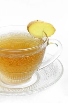 I drink ginger in my water every day but there is something amazing about fresh ginger root tea.  Health benifits are great!