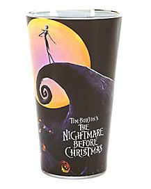 The Nightmare Before Christmas Pint Glass - The Nightmare Before Christmas