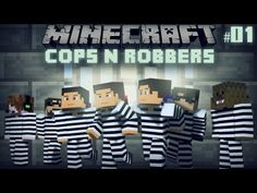 Minecraft: Cops n' Robbers 2.0 w/ SkyDoesMinecraft, DeadloxMC, JeromeASF, and SSundee - Episode 1