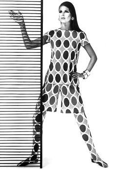 1960's fashion - Oscar de la Renta 1967