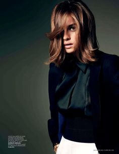 Kasia Smutniak for L'Officiel Paris, November 2012