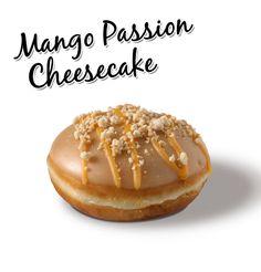 Mango Passion Cheesecake the newest KrispyKreme