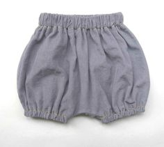 Unisex baby bloomers/baby boy pants  3 6 9 12 by minoucheclothing