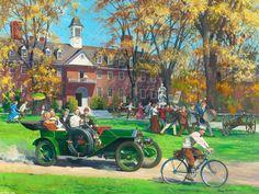 Descargar fondos de escritorio de coches retro americana Palmer-Cantante, 1910, Harry Anderson 1600x1200