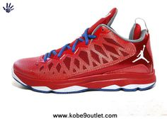 the best attitude 87567 20a38 2014 553533 607 Jordan CP3.VI Sport Red White Gym Red Game Royal CP3 Shoes