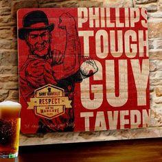 Tough Guy Man Cave Sign