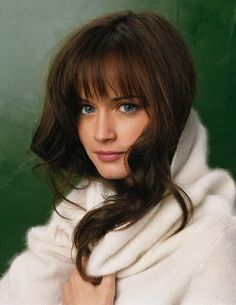 Alexis Bledel...love her hair