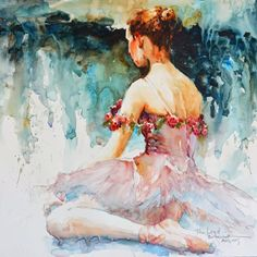 "Bev Jozwiak ""Bev Jozwiak has earned her signature status in the American Watercolor..."