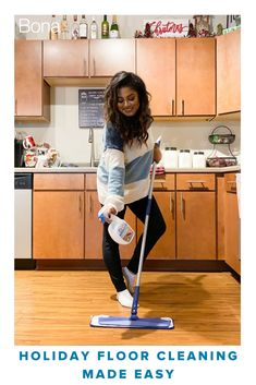 """The Bona PowerPlus system is the perfect way to spend less time cleaning and keeping my floors ready for my guests."" - Jasmine Maria"