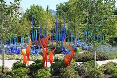 Seattle - Chihuly Gardens and Glass Museum