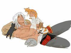 Pai dos gatos... kkkkkk