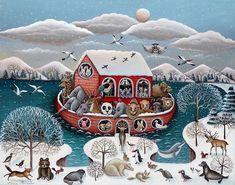 Winter Art, Art Plastique, Cookies, Arts, Christmas, Naive Art, Noel, Crack Crackers, Xmas