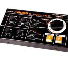 Boss Dr Rhythm DR-55 drum machine