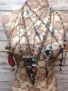 Handmade necklaces.    Pendant jewelry by Catherine Cole Studio #jewelry