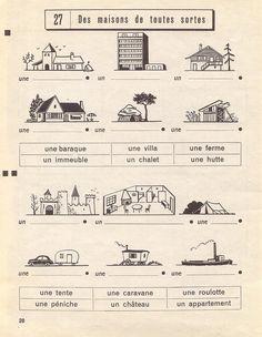 des maisons