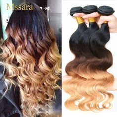 Ombre Hair Color, Hair Color For Black Hair, Hair Colors, Blue Ombre, Graduation Hairstyles, Ombre Hair Extensions, Natural Hair Styles, Long Hair Styles, Weave Hairstyles