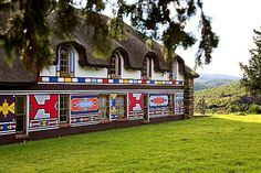 ndebele houses - Google Search Environmental Art, Houses, Google Search, Homes, House, Computer Case, Home, Environmental Design