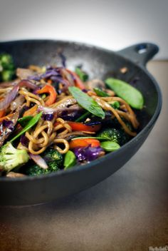 Udon stir fry- this was delicious! Will definitely make it again.