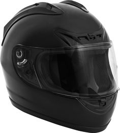 Fuel Helmets SH-FF0017 Full Face Helmet, Gloss Black Review