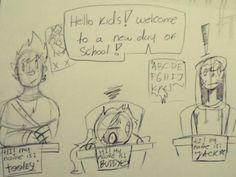 buddy goes back to olathe school