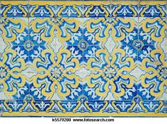 Vintage tiles from Sintra, Portugal