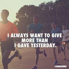 """I always want to give more than I gave yesterday"" ~Allyson Felix Photography: Shavit Tzuriel #ZoharZimro #DailyMotivation #Nike #NikeRunning #TrackAndField #Olympics"