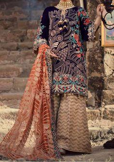 Velvet Pakistani Dress, Pakistani Dresses, Model Pictures, Dress Brands, Kimono Top, Luxury, Fabric, Sleeves, Shopping