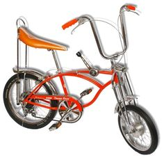 Oh, how I loved my Schwinn with the banana seat.  Mine was turquoise with pretty tassles on the handles.